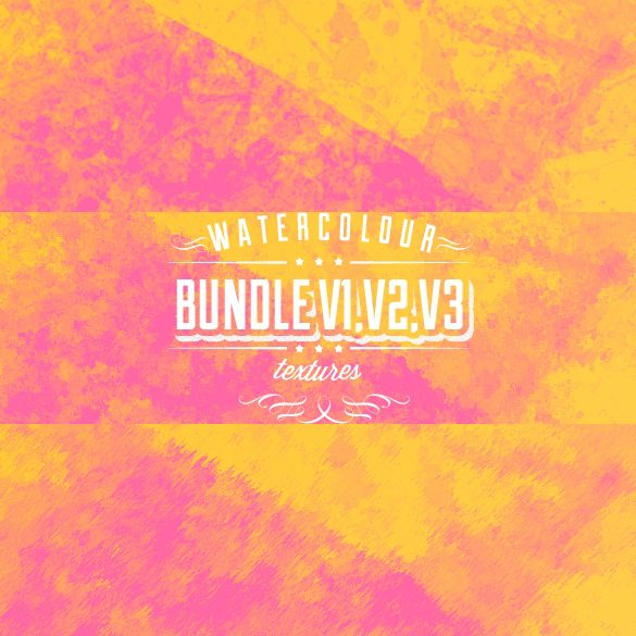 Watercolour Texture bundle